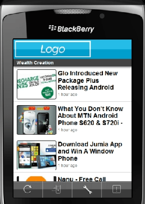 How To Create Your Blog/Business Blackberry App in Minutes
